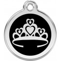 Princess Crown Identity Medals - 13 Colors, cat and dog