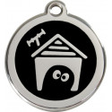Dog House Identity Medals - 12 Colors, Cats and dogs