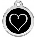 Heart Identity Medals - 15 Colors, cat and dog