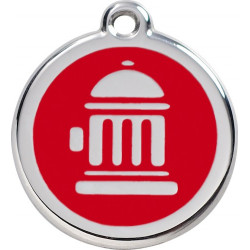 Fire Hydrant Identity Medals - 12 Colors, cat and dog