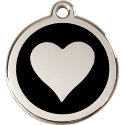 Heart Identity Medals - 20 Colors, cat and dog