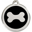 Bone Identity Medals - 20 Colors, cat and dog