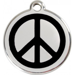 Peace and Love Identity Medals - 11 Colors, cat and dog