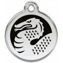 Dragon Identity Medals - 2 Colors, cat and dog