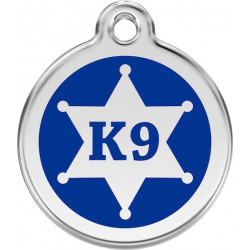 Sherif star K9 Identity Medals - 2 Colors, cat and dog