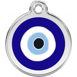 Blue Eye Identity Medal - cat and dog