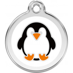 Penguin Identity Medals delivered engraved for dogs and cats