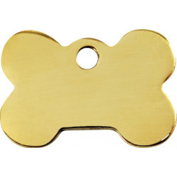 Golden colour Identity Medal Bone cat and dog, tag